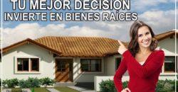 Invierte en bienes raíces
